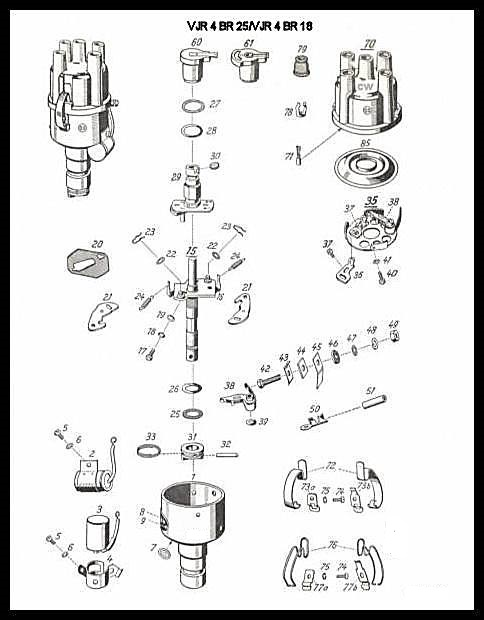 BR18_diagram_sharp_mod distributors carbs fuel ignition (cfi) repair & sales vw distributor diagram at n-0.co